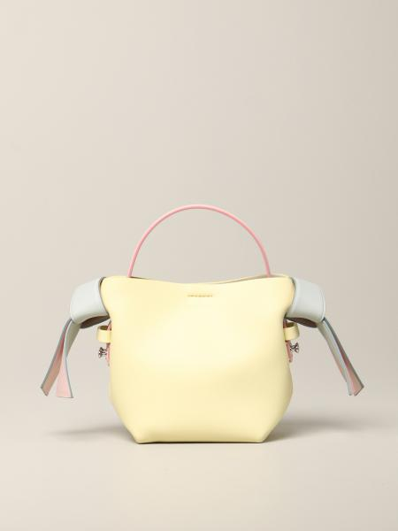 Borsa mini Acne Studios in pelle tricolor