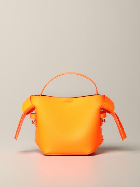 Acne Studios mini bag in fluorescent leather