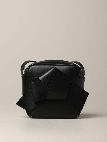 Acne Studios leather shoulder bag with maxi bow