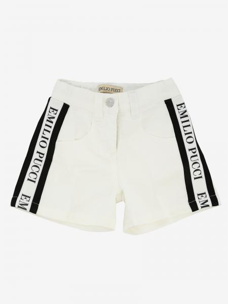 Emilio Pucci shorts with side bands