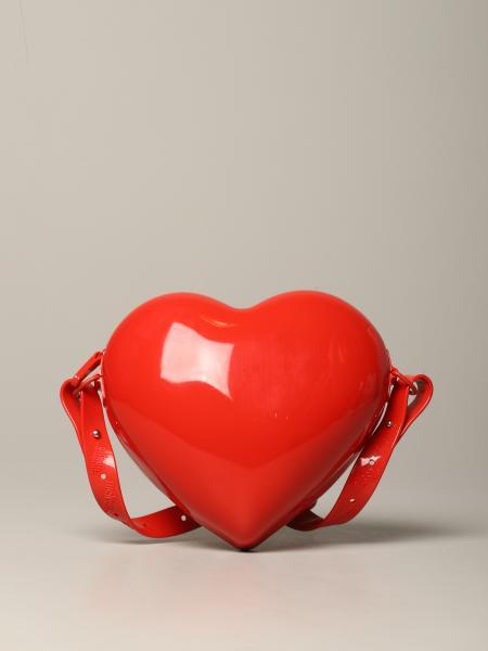 Mini Melissa heart-shaped shoulder bag