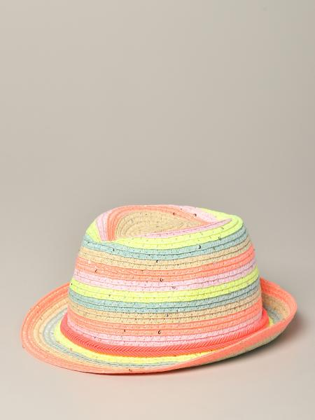 Cappello Billieblush in paglia multicolor