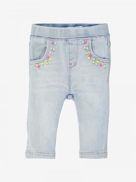 Jeans Billieblush con perline in misto cotone