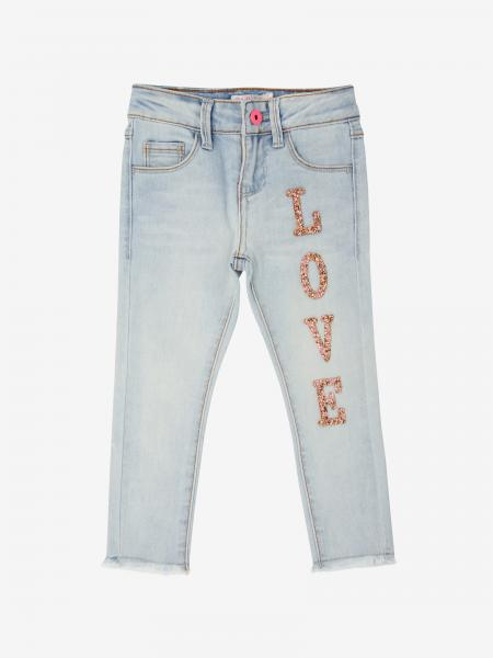 Billieblush jeans with love writing