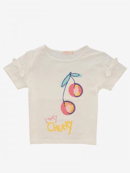 T-shirt Billieblush con stampa ciliegie