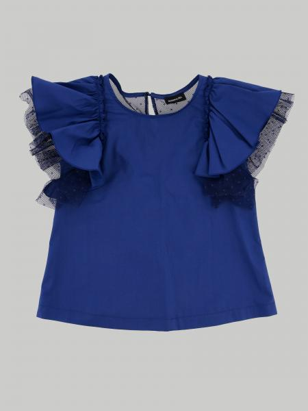 Monnalisa Jakioo top with flounces