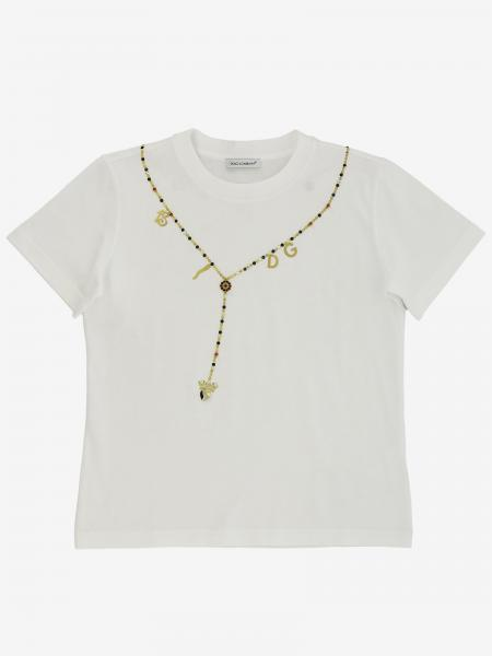 Dolce & Gabbana t-shirt with necklace print