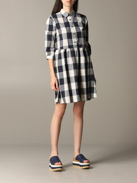 Woolrich checked dress