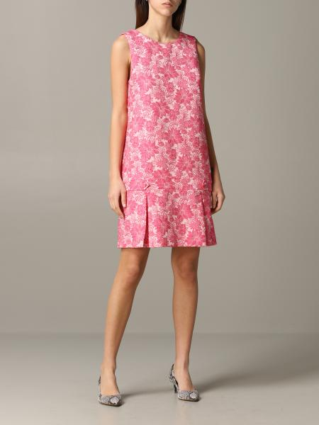 Be Blumarine short dress with floral pattern