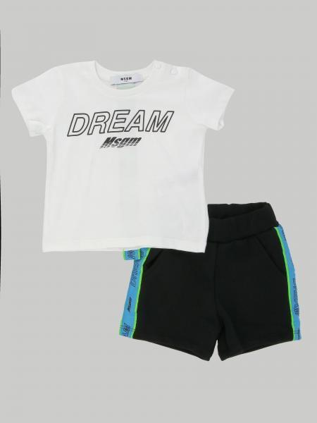 Ensemble T-shirt + short Msgm Kids