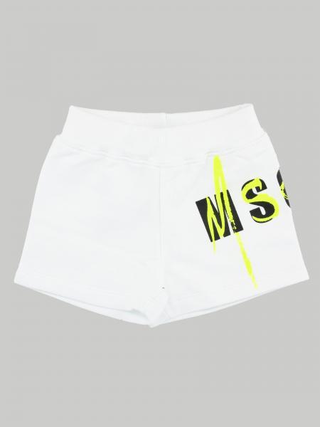 Pantaloncino Msgm Kids con logo