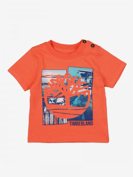 T-shirt à manches courtes Timberland avec imprimé