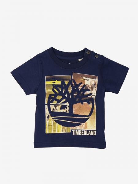 T-shirt Timberland a maniche corte con stampa