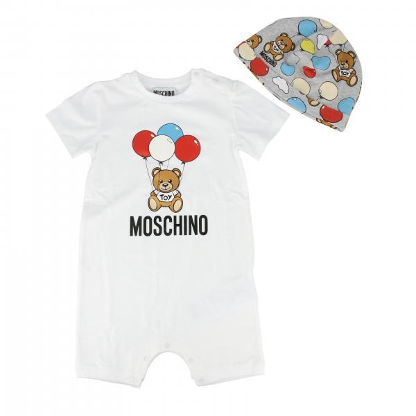 Moschino Baby Strampler + Mütze