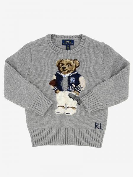 Maglia Polo Ralph Lauren Toddler con orso