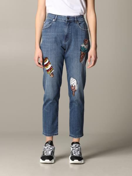 Love Moschino jeans with ice cream