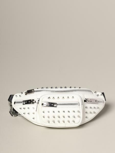 Alexander Wang leather belt bag with studs