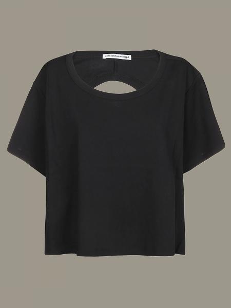 T-shirt Alexander Wang con scollatura posteriore