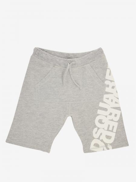 Pantaloncino jogging Dsquared2 Junior con stampa