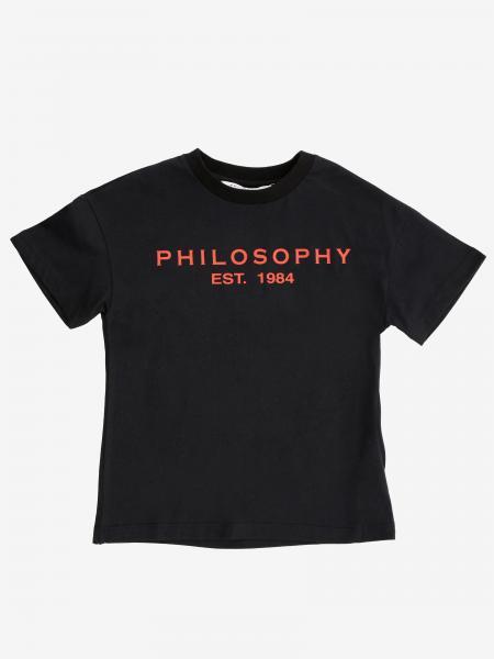 T-shirt kids Philosophy Di Lorenzo Serafini