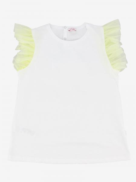 Il Gufo t-shirt with ruffles