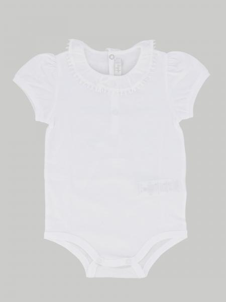 Il Gufo body with short sleeves
