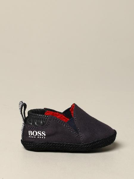 Hugo Boss shoe in canvas with logo