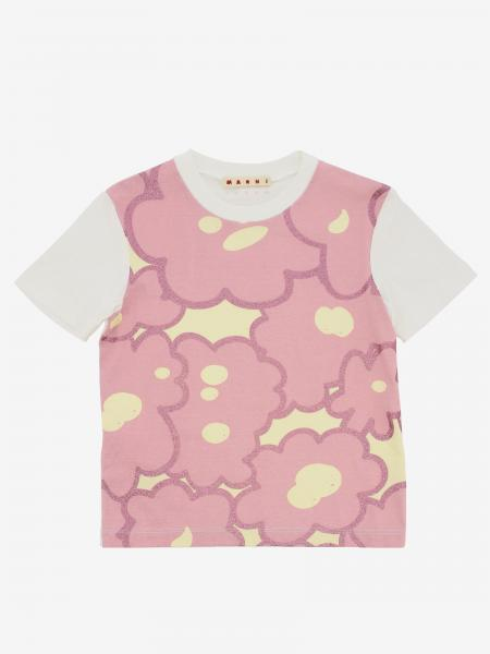 T-shirt Marni con stampa floreale