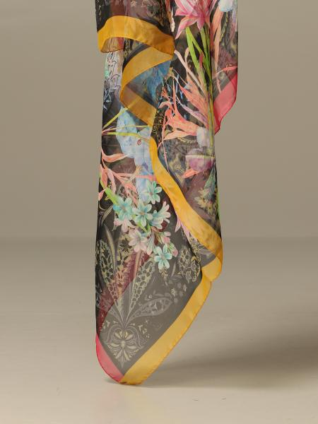Etro scarf with paisley and floral pattern