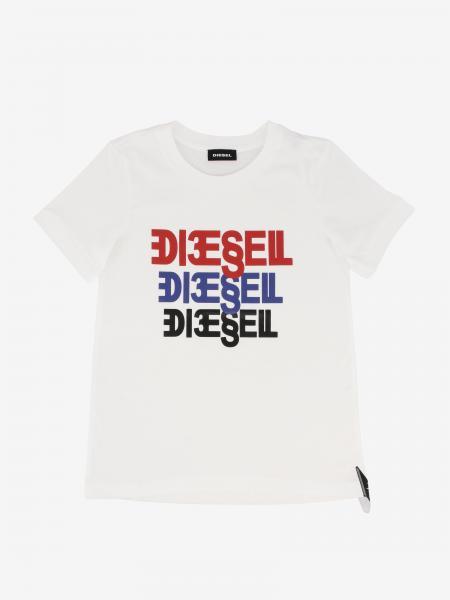 T-shirt Diesel con logo