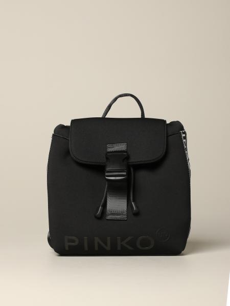 Pinko neoprene backpack with logoed bands