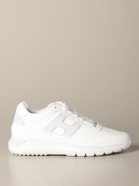 Hogan leather sneakers with big h
