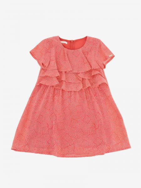 Liu Jo short-sleeved dress with ruffles