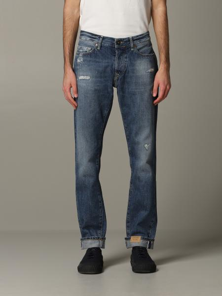 Jeans tela genova in denim stretch
