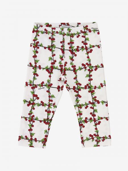 Leggings Monnalisa a fantasia di ciliegie