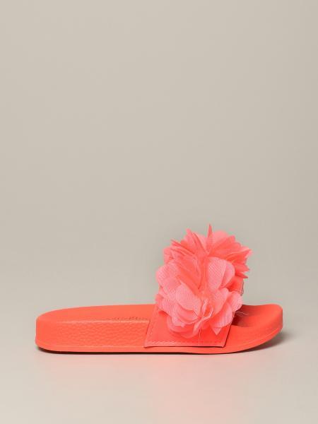 Sandalo Billieblush con applicazioni floreali