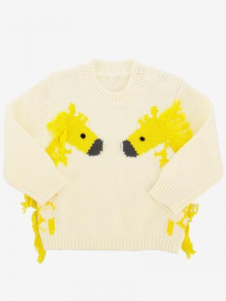 Maglia Stella McCartney in cotone e lana con giraffe