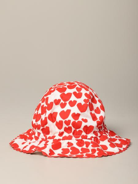 Stella Mccartney hat with hearts