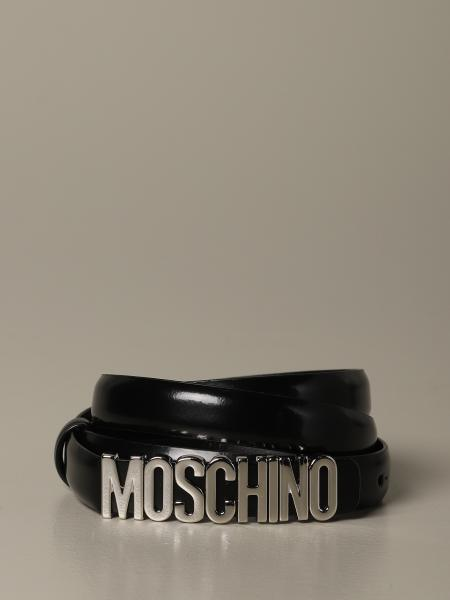 Cintura Boutique Moschino in pelle lucida