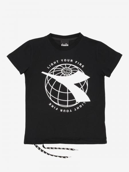 T-shirt Diadora con stampa logo