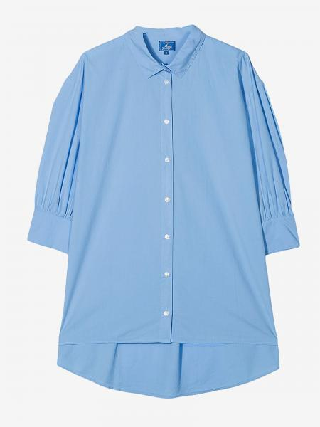 Fay wide shirt with big logo