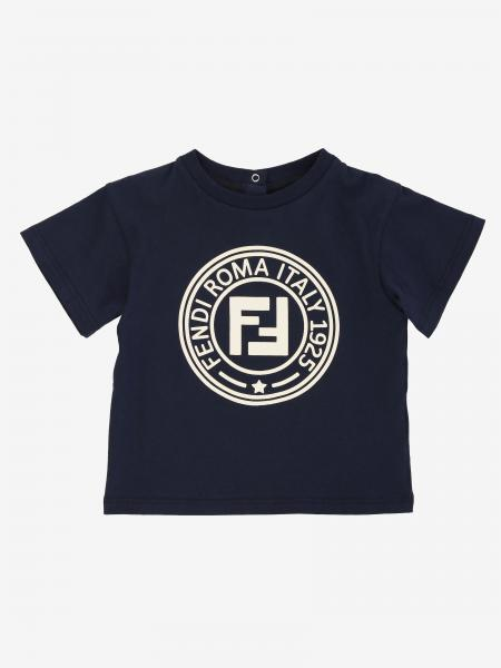 Fendi short-sleeved T-shirt with FF logo