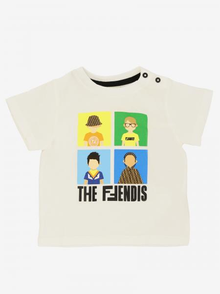 Fendi short-sleeved T-shirt with print