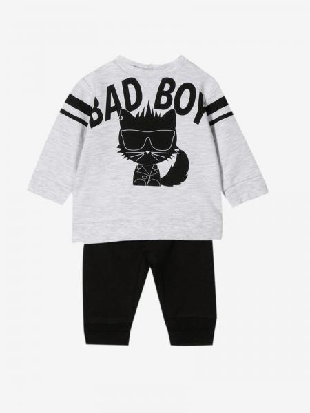 Karl Lagerfeld Kids sweatshirt + trousers set