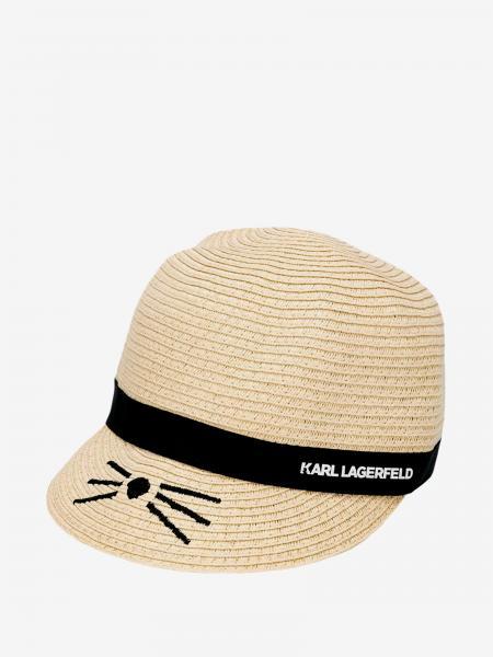 Шапка для девочек Детское Karl Lagerfeld Kids