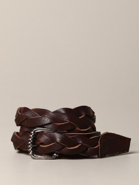 Nupkeet belt in woven leather