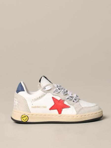 Golden Goose bambino: Sneakers Golden Goose in pelle e camoscio
