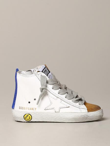 Sneakers Golden Goose in pelle e camoscio
