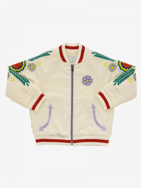 Bomber Stella Mccartney zippé et broderies all over