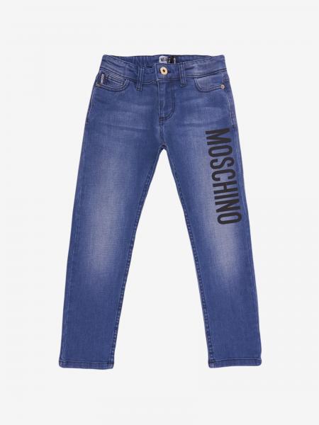 Moschino Kid jeans with Moschino logo